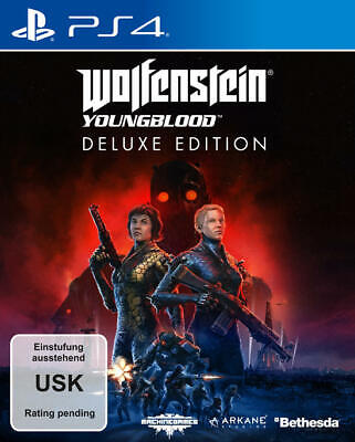 Wolfenstein: Youngblood Deluxe Edition PS4 NEU + OVP