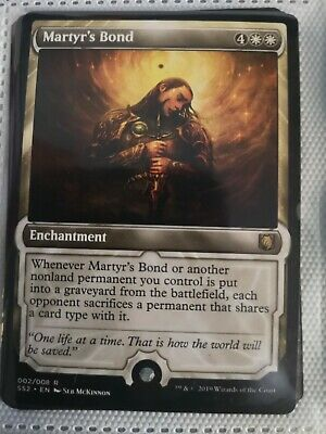 Gideon MTG Magic English Signature Spellbook 1x Martyr/'s Bond NM-Mint