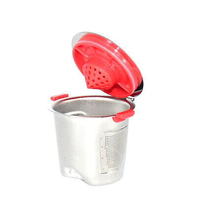 For Keurig 1.0&2.0 Capsule Cup Silver+Red Refillable 0.5OZ Pod New Hot Latest