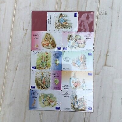 Peter Rabbit Japanese Phone Cards 2002 Beatrix Potter Animals Japan Animation