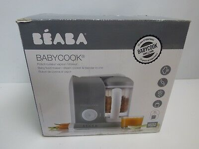 BEABA Babycook Food Maker in Cloud (Grey) USED A COUPLE OF TIMES