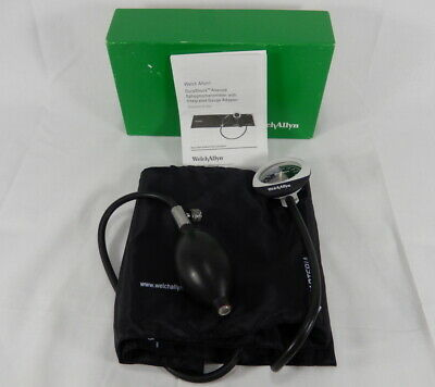 Welch Allyn DuraShock Aneroid Sphygmomanometer Thigh 2-pc Cuff