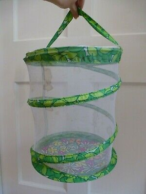 Insect Lore Butterfly Garden Live Bug Hatching Collapsible Net Enclosure ~ 30cm