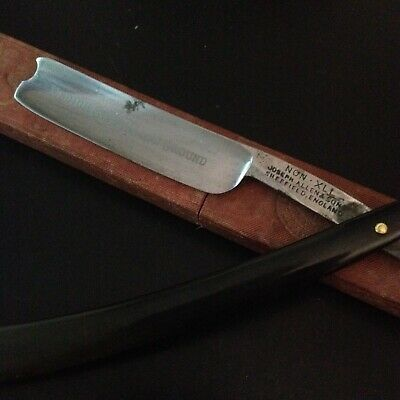 Jos. Allen & Sons, Sheffield England. Medium Size Hollow Ground Straight Razor