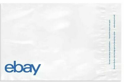 "20 Envelopes eBay-Branded Polymailer With Blue Print 9"" x 11.5"" (No Padding)"