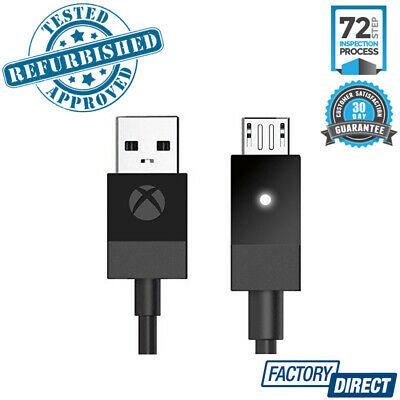 Genuine Microsoft Xbox One Usb Charging Cable Cord Sync Game Console Accessories