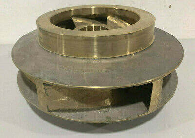 New Goulds Pumps D02498A01-1179 Bronze Impeller for Pump Model 3410 Item #101