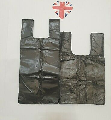 Two size of Dog Poo Bags (Dog Poop Bag/Waste Bags) - Black Tie Handle