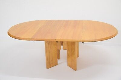 Extenable Dining Table W/ - Brand Bill - Vintage - Design - Elm