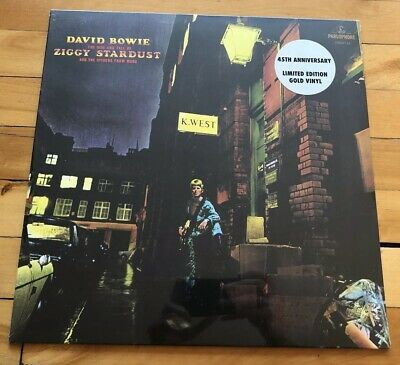 David Bowie - The Rise And Fall Of Ziggy Stardust - Very Limited GOLD Vinyl LP