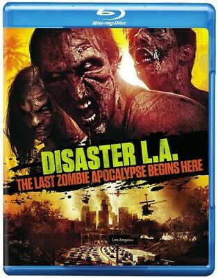 Disaster L.A: Last Zombie Apocalypse Begins Here (2014, Blu-ray NEW)