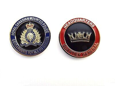 RCMP Division Challenge Coin -  Headquarters (401RCG)