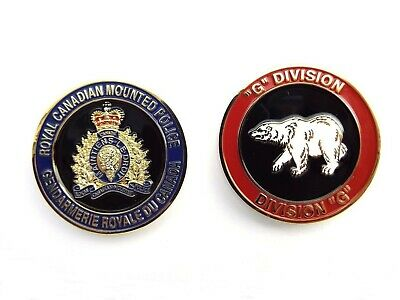RCMP Division Challenge Coin - G Division (410RCG)