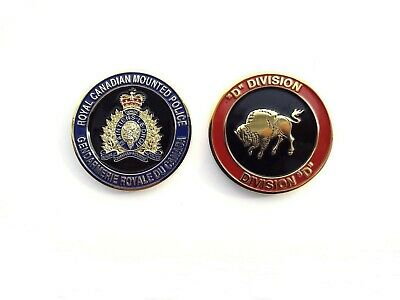 RCMP Division Challenge Coin - D Division (407RCG)