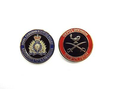 RCMP Division Challenge Coin - Depot (403RCG)