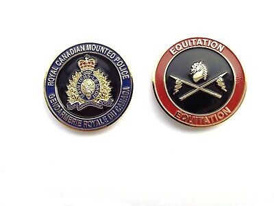RCMP Division Challenge Coin -  Equitation (402RCG)