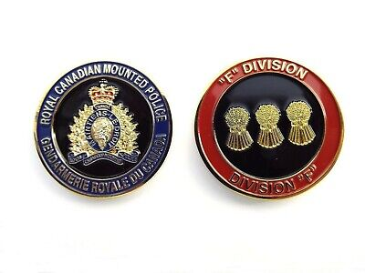 RCMP Division Challenge Coin - F Division (409RCG)