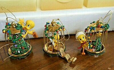 Ltd Ed TWEETY BIRD HOME FOR THE HOLIDAYS HEIRLOOM CLASSICS ORNAMENT COLLECTION