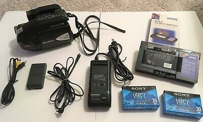 Quasar VM-L152 VHS-C Analog Camcorder ~ VHSC VCR Player / Transfer