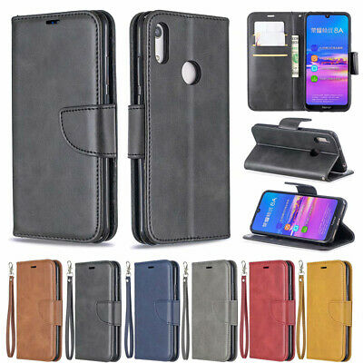 For Huawei P Smart Y5 Y6 Y7 2018 2019 PU Leather Magnetic Wallet Flip Case Cover