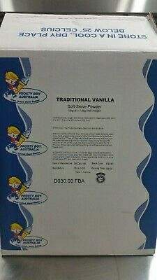 Frosty Boy Traditional Vanilla Soft Service Ice Cream Powder 1.5Kg