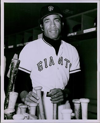 LG698 1975 Orig Russ Reed Photo VON JOSHUA San Francisco Giants MLB Outfielder