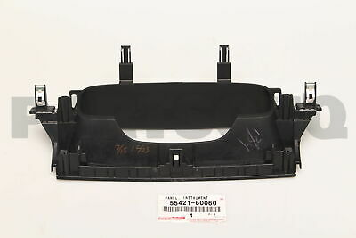 55421-60060 Toyota Panel upper 5542160060 instrument cluster finish New Genui