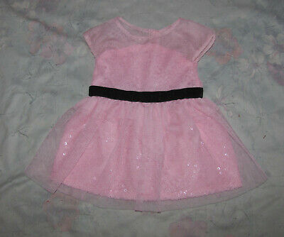 American Girl Doll Grace Thomas' Opening Night Pink Dress - Dress Only