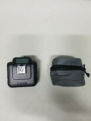 Cactus Wireless Flash Transceiver V6 Single With Case