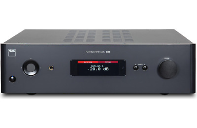 NAD C388 STEREO integrated amplifier with built-in DAC and Bluetooth