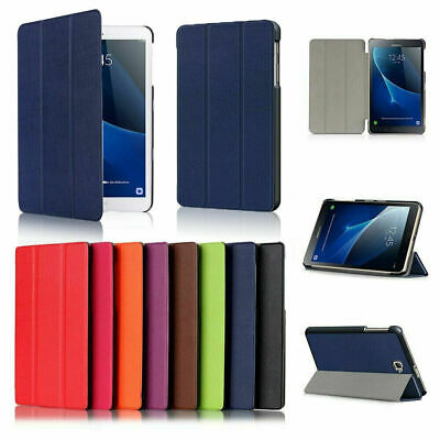 For Samsung Galaxy T280 T350 T380 T580- Folio PU Leather Smart Stand Case Cover