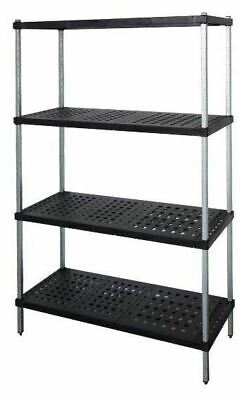 Coolroom Shelving Galvanised Post Real Tuff Shelves 2000H x 300W