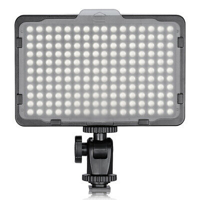 "Neewer Camera Video Light Dimmable 176 LED Panel with 1/4"" Thread for Canon"