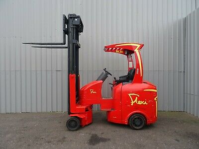 FLEXI G3 2000Kg. USED ARTICULATED ELECTRIC FORKLIFT TRUCK. (#2494)