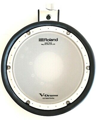 Roland PDX-8 Electronic Dual Zone Mesh Head V Drum Trigger Pad from TD17 KVX