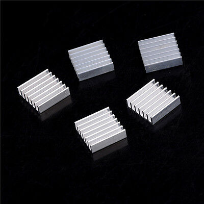 5pcs Aluminum Heat Sink for LED Power Memory Chip 20*20*6mm  High QualityIH~PL