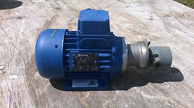 DropsA B3/B14 0.18kw electric motor (1360rpm 230v) with pump (37054)