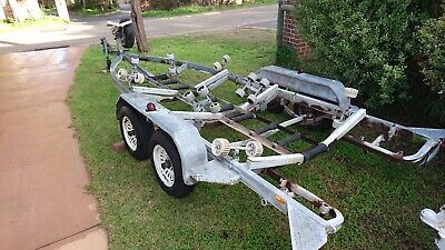Tandem Easy Tow Galvanised Boat Trailer