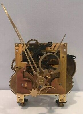 Vintage Westwood Chadwick All Brass Clock Movement Number PL65CM EUC