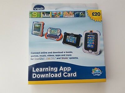 NEW Vtech Download App £20 Card Innotab Game Free Postage
