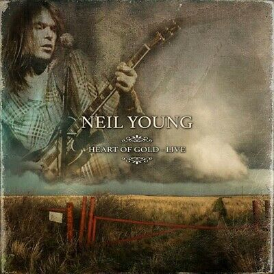 Neil Young Heart of Gold Live Limited Edition White Vinyl 3 LP