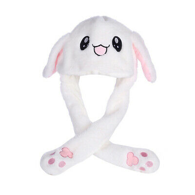 Rabbit Ear Hat Can Move Airbag Magnet Cap Plush Gift Record Video Dance Toy Girl