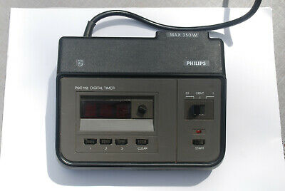 Philips PDC 112 Digital Timer