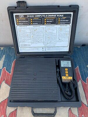 CPS REFRIGERANT SCALE CC220 Working!