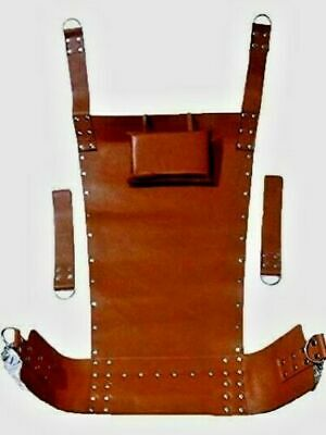 Heavy Duty Brown Leather Play Room Sex Swing / Sling 100% Adult Play Room Fun