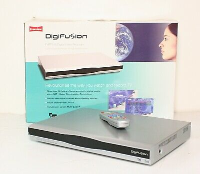 Freeview Decoder and Recorder DigiFusion FVRT145 Set Top Box