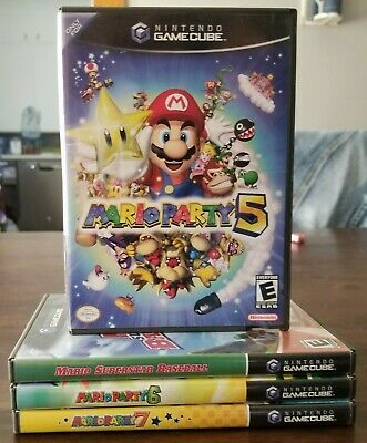 Authentic Nintendo GameCube Replacement Cases - Case & Manual Only!!! No Game!!!