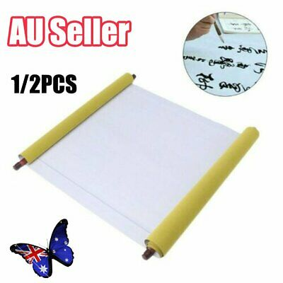 Reusable Chinese Magic Cloth Water Paper Calligraphy Fabric Book Notebook 1.5m B