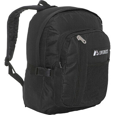Everest Backpack with Front Mesh Pocket 7 Colors Everyday Backpack NEW