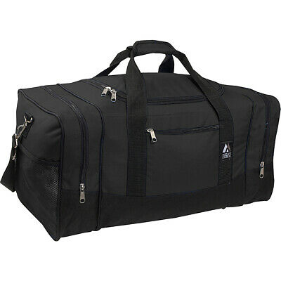 "Everest 25"" Sporty Gear Bag 8 Colors Travel Duffel NEW"